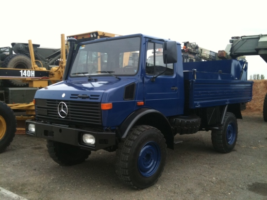 Mercedes Benz Unimog U1300L Fuel Truck    4x4 for sale