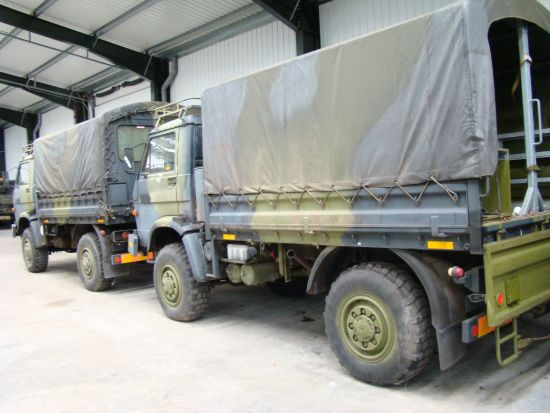 MAN 8.136 FAE 4x4 Drop side cargo truck for sale
