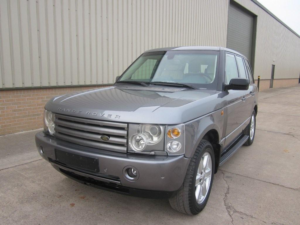 Armoured Range Rover vogue LHD V8 metallic grey