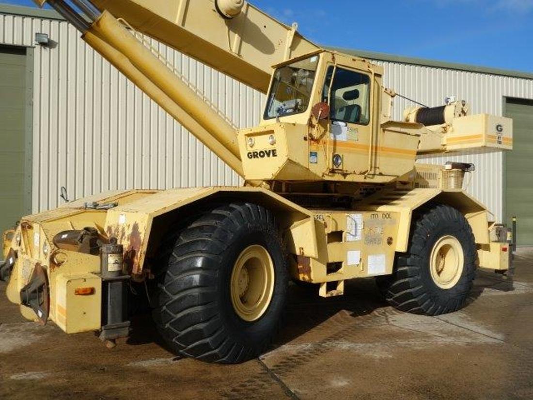 Grove Rough Terrain RT 760 Crane | used military vehicles, MOD surplus for sale