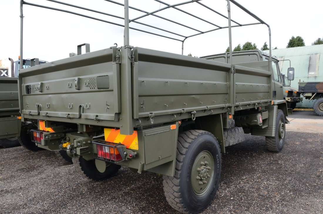 Leyland DAF 45.150  4x4 Drop Side Cargo Truck for sale