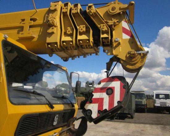 Grove GMK 5130 130 ton 5 axle all terrain military crane   used military vehicles, MOD surplus for sale