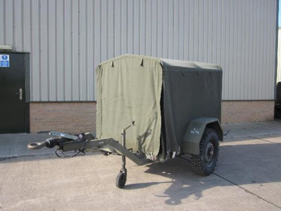 Tacalemit Model SM 6001 Sankey Lubricating Trailer  for sale. The UK MOD Direct Sales