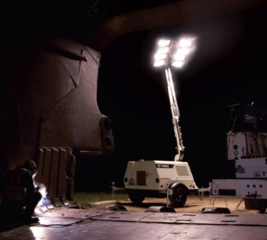 WAS SOLD Terex Amida lighting towers AL4050D-4MH