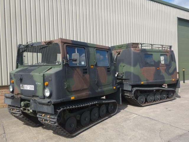 Hagglund BV206 5 Cyl Mercedes Diesel Personnel Carrier for sale | military vehicles