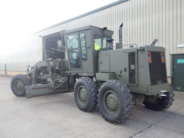 Caterpillar 130G motor grader  for sale . The UK MOD Direct Sales