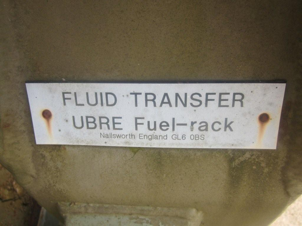Drops flat racks pallet fitted with ubre fuel system for sale