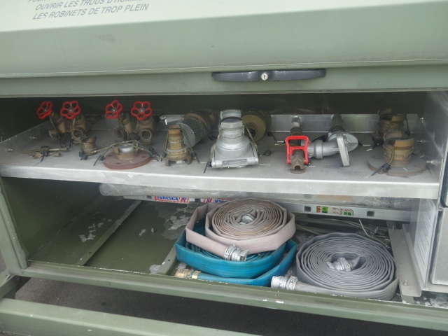 20FT ISO Potable Water Tank Containers  with flat rack   used military vehicles, MOD surplus for sale