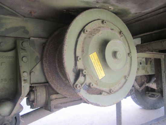 Iveco 110 - 16 4x4 LHD cargo truck with Sepson winch for sale