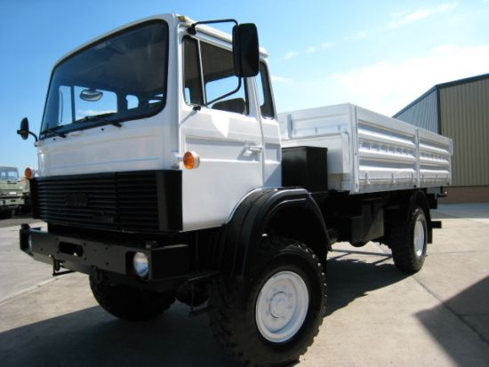 Iveco Magirus 110-16 Military 4x4  drop side cargo truck for sale | military vehicles