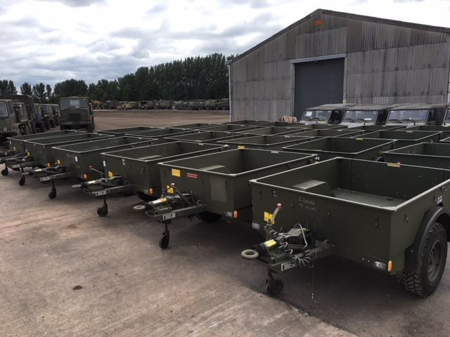 Penmann cargo trailer | used military vehicles, MOD surplus for sale
