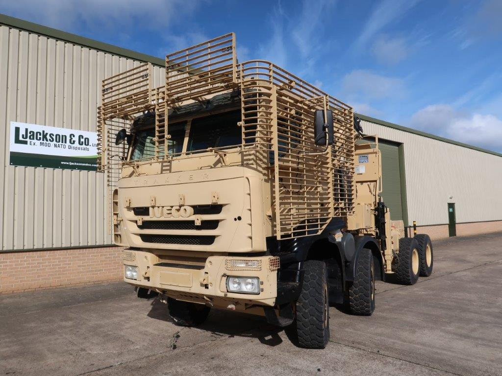 Iveco Trakker 8x8 with Armoured Cab for sale | military vehicles