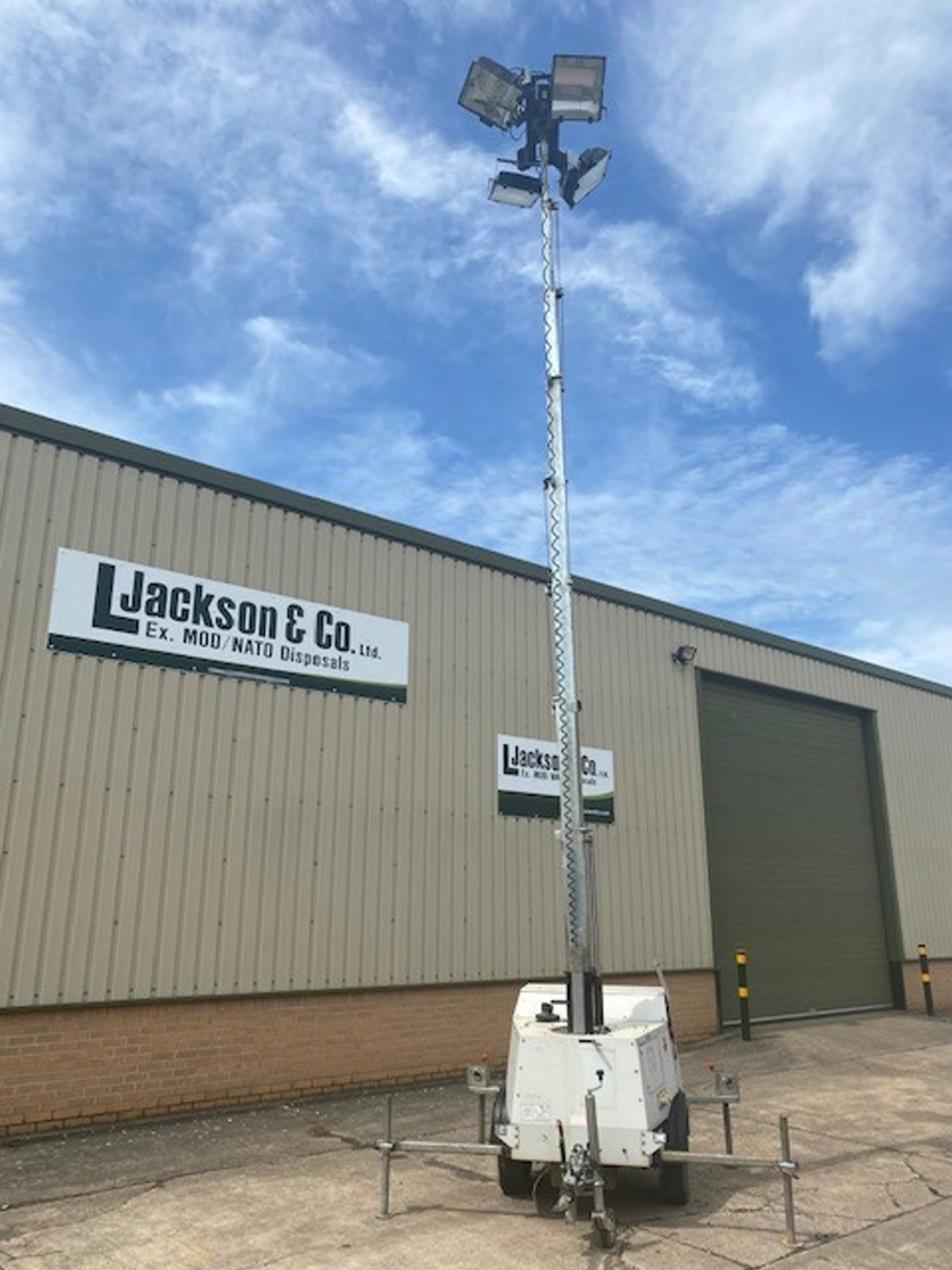 SMC TL90 Lighting Towers | used military vehicles, MOD surplus for sale