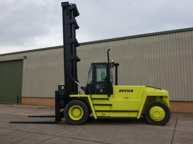 Hyster H18.00XM-12   Forklift | used military vehicles for sale