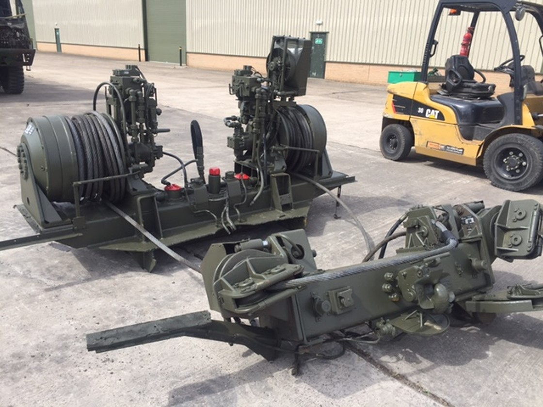 Rotzler Heavy Duty Dual Winch Unit