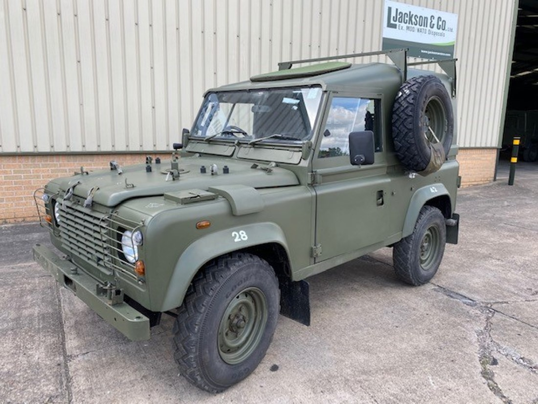 Land Rover Defender 90 Wolf RHD Hard Top Winterised/Waterproof (Remus) | Military Land Rovers 90, 110,130, Range Rovers, Mercedes for Sale