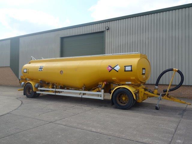 24,000 Litre Fluid  tanker trailer for sale