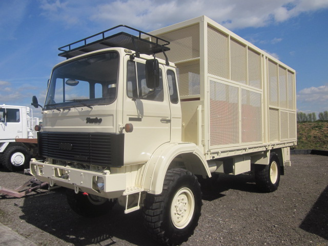 Iveco 110 - 16 4x4 lube, service truck  for sale. The UK MOD Direct Sales