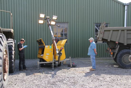 Terex Amida lighting towers AL4050D-4MH | used military vehicles, MOD surplus for sale
