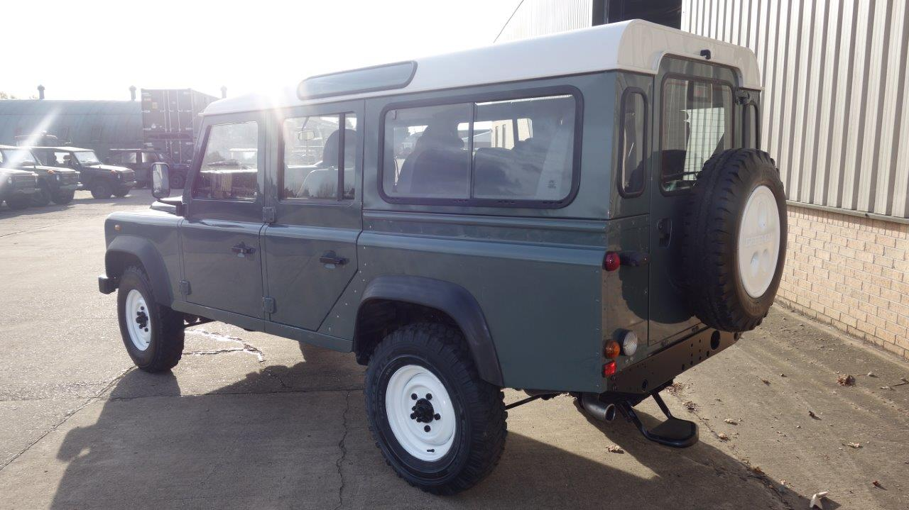 Land Rover Defender 110  Station Wagons RHD  for sale. The UK MOD Direct Sales