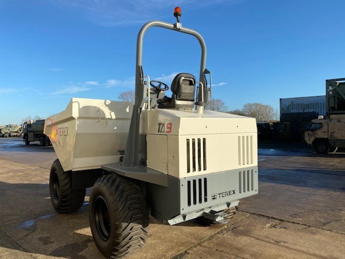 Terex TA9 4x4 9 Ton Dumper | used military vehicles, MOD surplus for sale