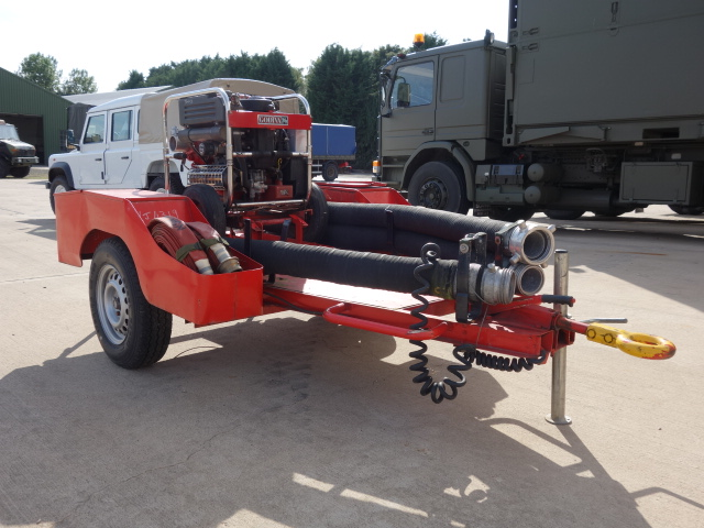 Godiva Fire Pump Trailer |  EX.MOD direct sales