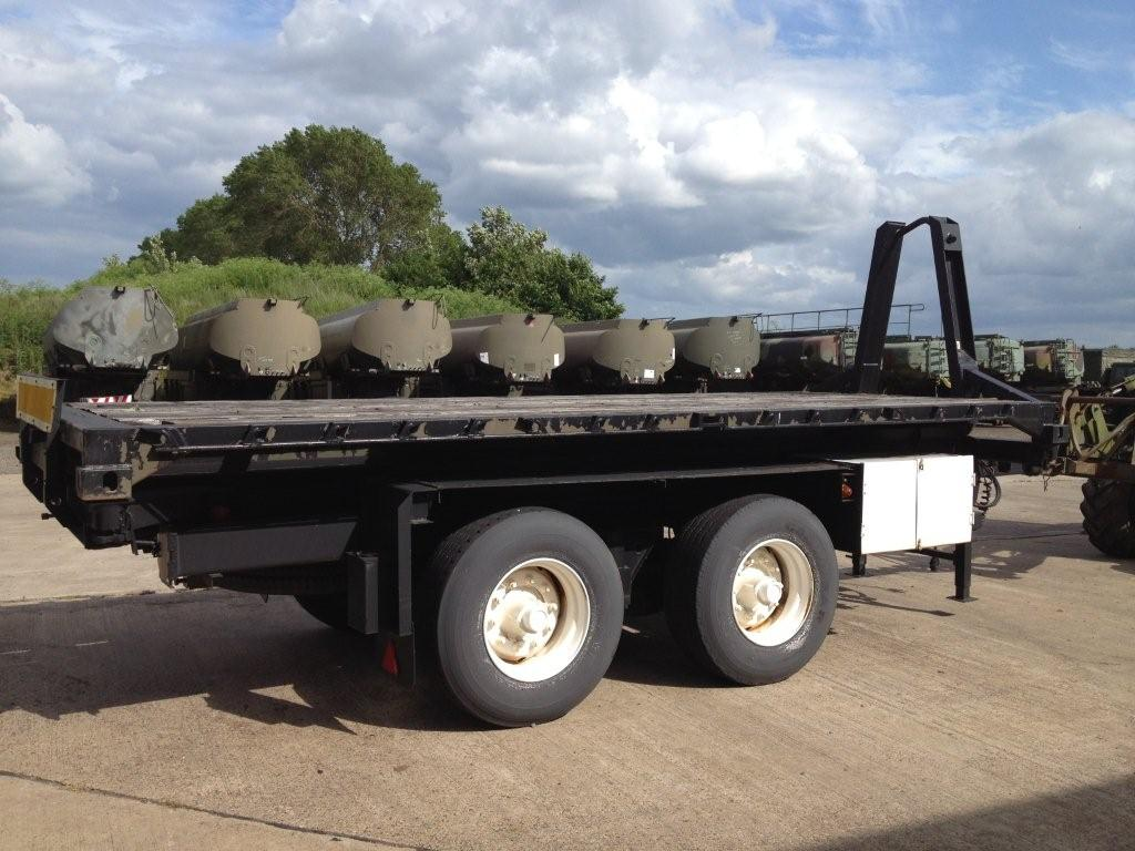 DROPS body - 20ft ISO flat rack | used military vehicles, MOD surplus for sale