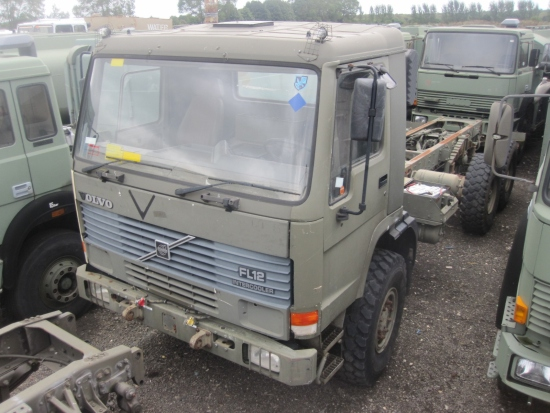 Volvo FL12 6x6  chassis cab | Military Land Rovers 90, 110,130, Range Rovers, Mercedes for Sale