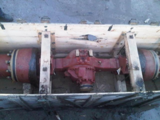 Unused Iveco rear complete axle for sale