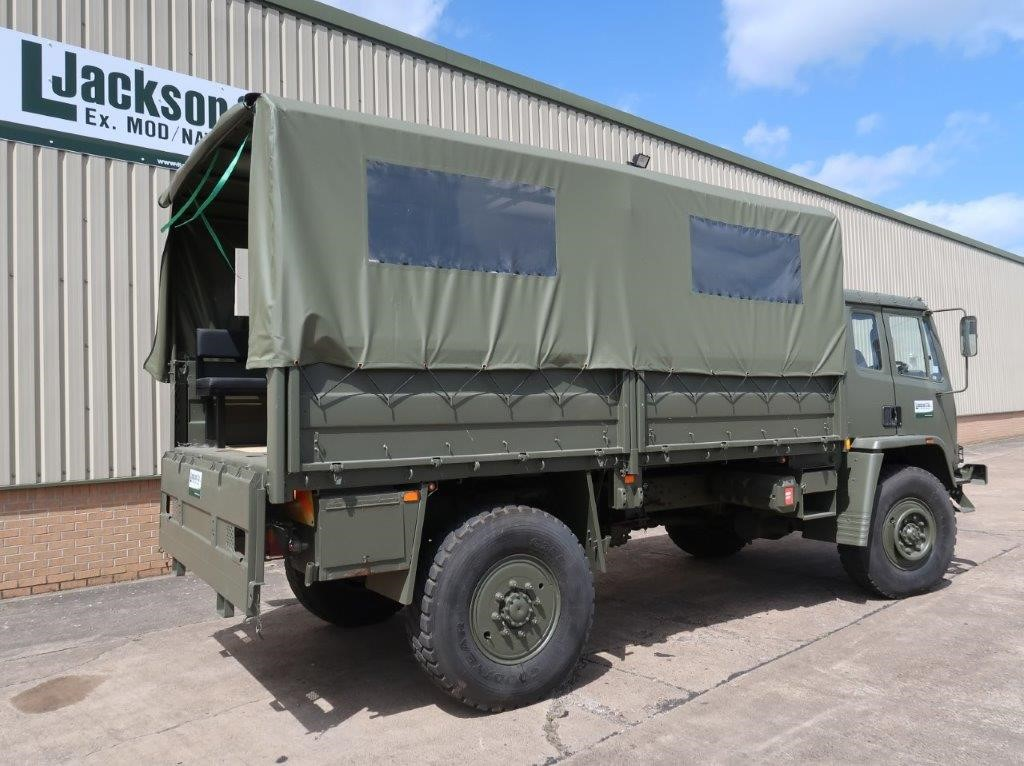 Leyland Daf 45.150 4×4 Troop Carrier/shoot with Canopy & Seats | used military vehicles, MOD surplus for sale