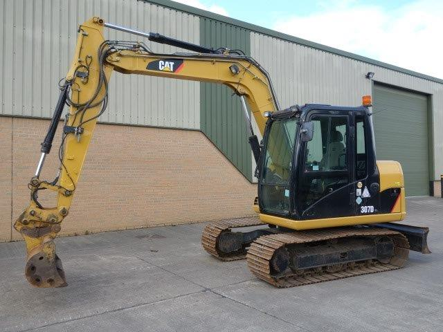 Caterpillar 307 D excavator 2010 | Military Land Rovers 90, 110,130, Range Rovers, Mercedes for Sale