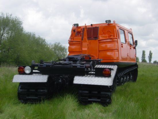 Hagglunds BV206 DROPS Unit  (multilift Palfinger)