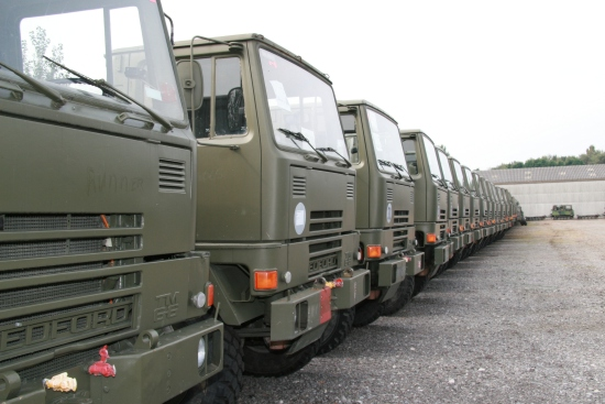 WAS SOLD Bedford TM series 4x4 chassis truck