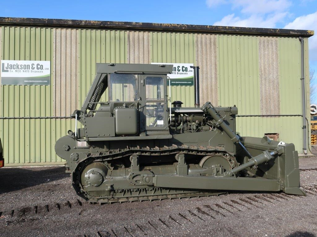 Caterpillar D7G Dozer with Winch | used military vehicles for sale
