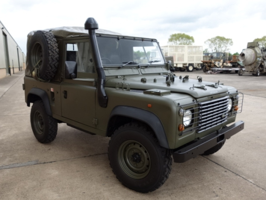 SOLD Land rover 90 RHD wolf (Soft Top) ex.army | used military vehicles, MOD surplus for sale