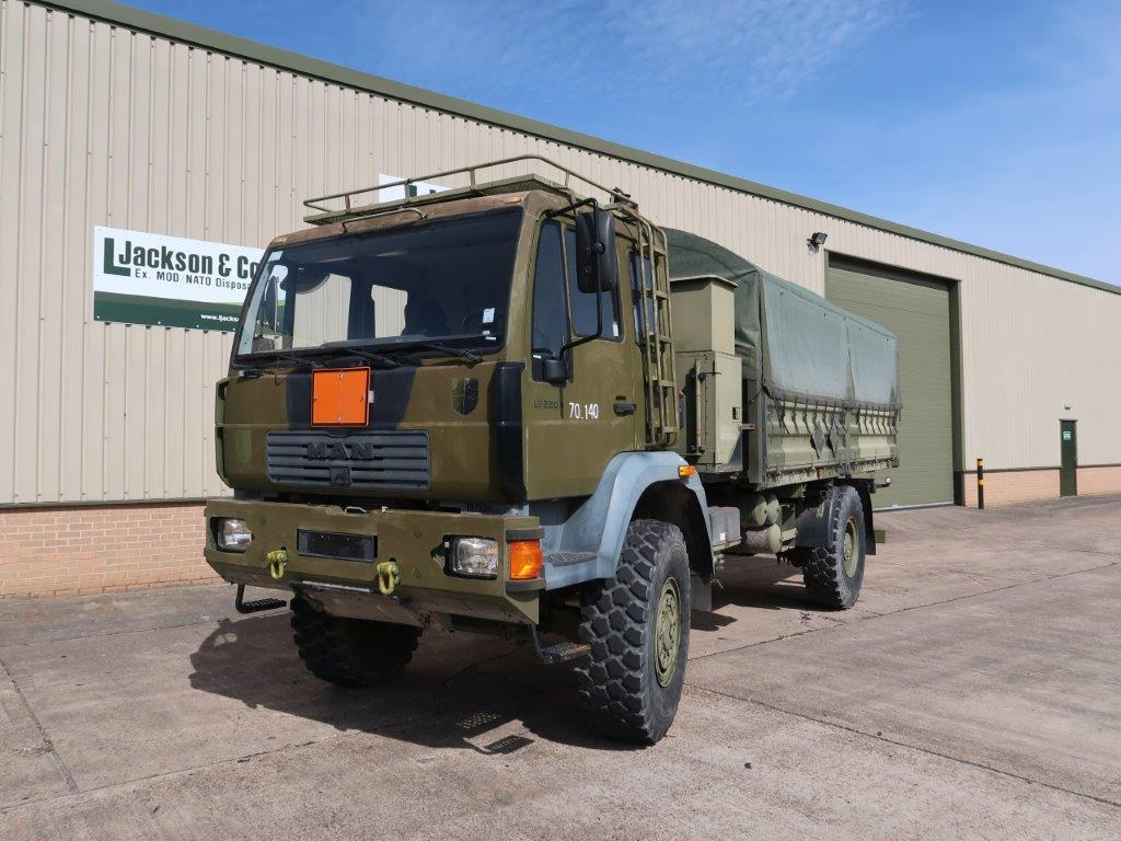 MAN 18.225 4x4 Cargo Truck |  EX.MOD direct sales