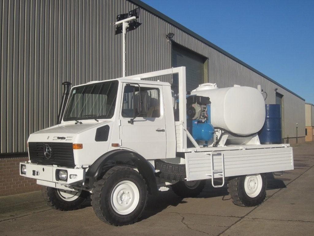 Mercedes unimog  4x4 service truck   used military vehicles, MOD surplus for sale