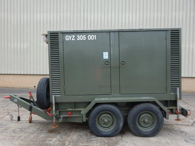 Hunting 150 KVA Trailer Mounted Generator |  EX.MOD direct sales