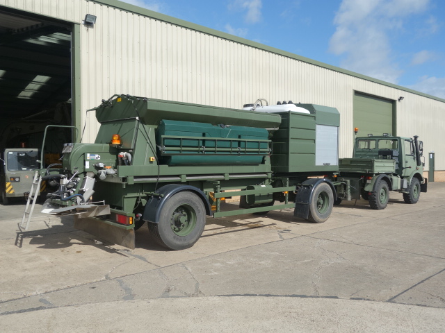 Schmidt towed gritter trailer  for sale . The UK MOD Direct Sales