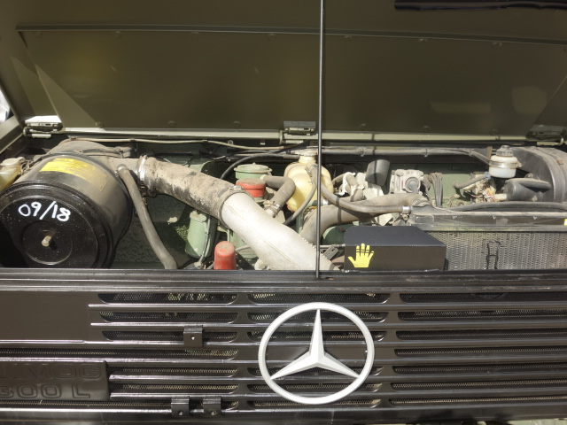 Mercedes Unimog  U1300L 4x4 Drop Side Cargo Truck  military for sale