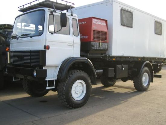 WAS SOLD Iveco  110-16 4x4  workshop, service truck