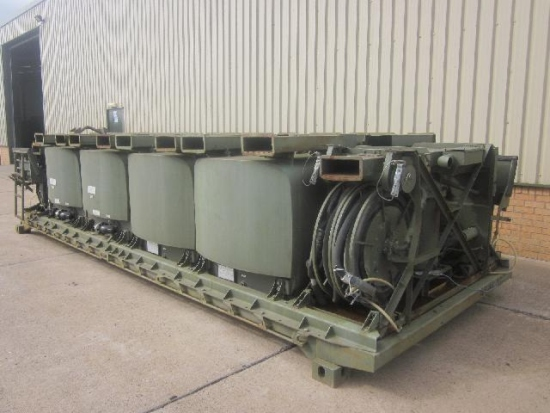 Drops flat racks pallet fitted with ubre fuel system | used military vehicles for sale