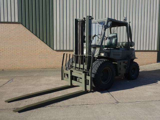 Steinbock 8052 2.5 ton ex military forklift for sale | military vehicles