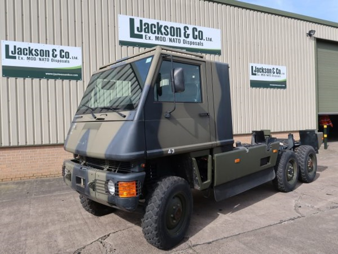 Mowag Duro II 6x6 Chassis Cab for sale | military vehicles
