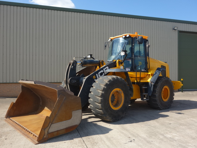 JCB 457 ZX Wheeled Loader | Military Land Rovers 90, 110,130, Range Rovers, Mercedes for Sale