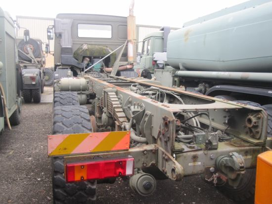 Volvo FL12 6x6  chassis cab for sale