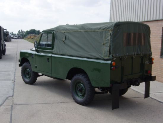 Land Rover Series III 109 -LHD LWB soft tops (Petrol) | used military vehicles, MOD surplus for sale