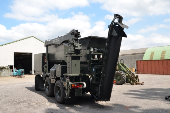 SOLD Volumetric cement mixer Entwistle / Perkins | used military vehicles, MOD surplus for sale