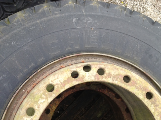 Michelin 14.00R24 tyres (Unused)  for sale . The UK MOD Direct Sales