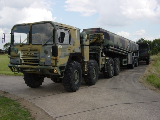 MAN  CAT  A1  8x8  + Aurepa 30000 tanker truck | used military vehicles for sale